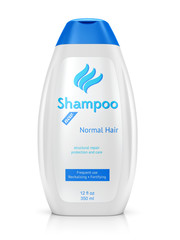 Bottle of shampoo
