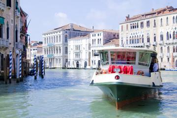 Vaporetto in Venice Canal