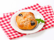 Plum jam filled pastry