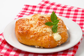 Sweet cream cheese pastry