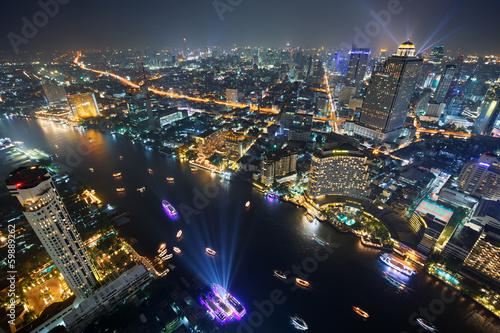 Bangkok, Thaïlande, fleuve Chao Phraya