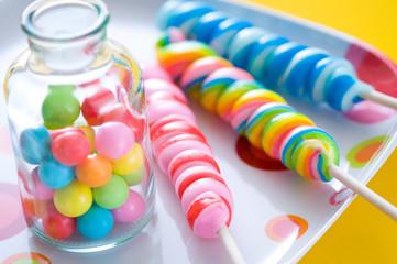 キャンディとガムボール