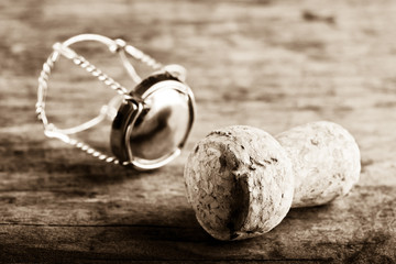 sparkling wine cork