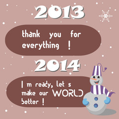 Past and New Year wishes