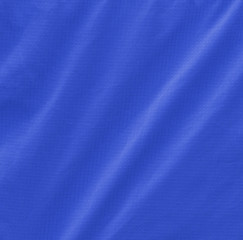 crumpled blue fabric texture