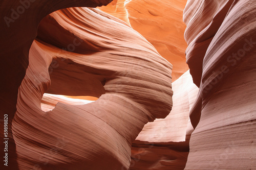 Details of textures in Lower Antelope Canyon