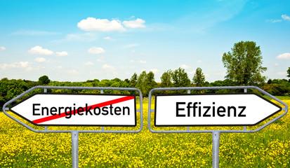 Energiekosten Effizienz
