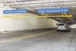 Going up the parking garage ramp - 59899867
