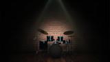 Fototapety Drum kit isolated
