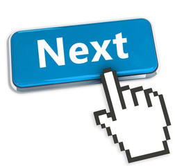 Next Button with hand cursor