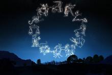 """Постер, картина, фотообои """"Zodiac Sign"""