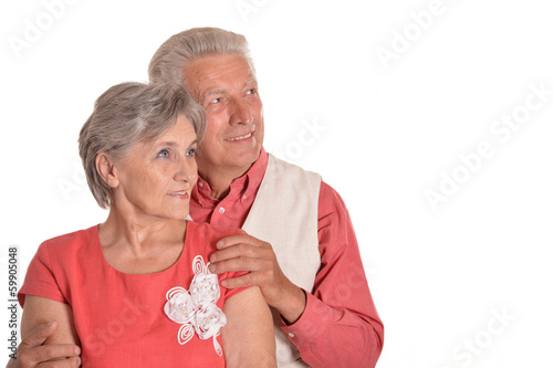 Portrait of a happy middle-aged couple