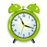 Alarm clock green