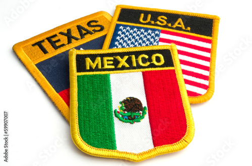 texas, mexico and USA
