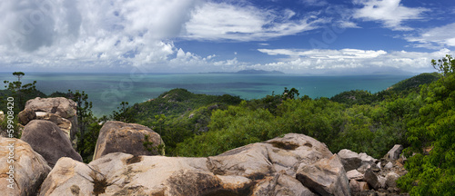 canvas print picture Panorama von Magnetic Island, Australien