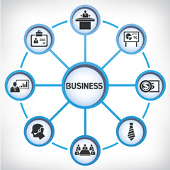 business network diagram