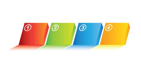 four steps diagram