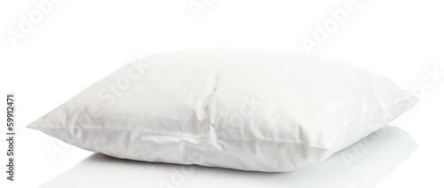 Leinwanddruck Bild pillow isolated on white