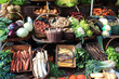 France - vegetable market - 59912893