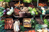 France - vegetable market