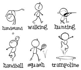 Different sports