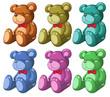Six bears