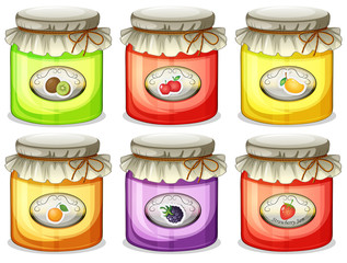 Six different jams