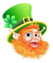 St Patricks Day Leprechaun Face
