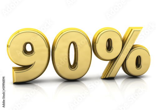 Ninety percent gold