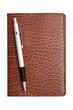 手帳とシャープペン
