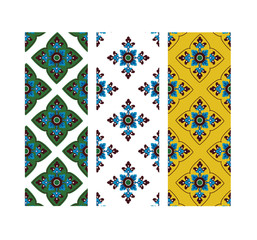 Asian tradition art pattern in vector