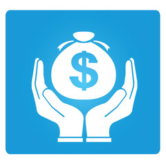 asset management, money saving symbol