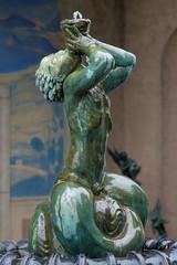 Little Triton Fountain, Millesgarden sculpture garden, Stockholm