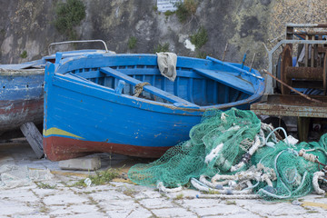 Fishing boats in Gallipoli