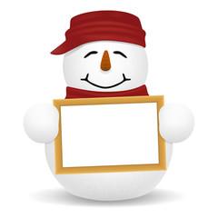 snow man Sign