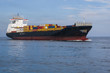 barco de carga en el mar caribe - 59924834
