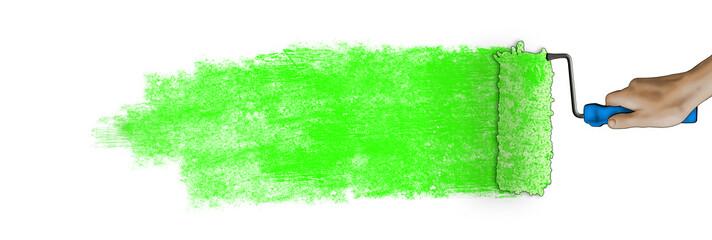 Paintbrush banner