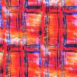abstract avant-garde orange, blue, grill seamless wallpaper wate