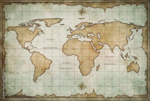 w-wieku-mape-skarbow-z-kompasem-tle