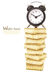 delicious wafer time