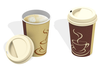 Die Kaffebecher