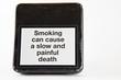 Warning sign smoking kills