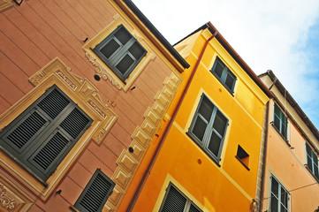 Rapallo, Liguria, case liguri
