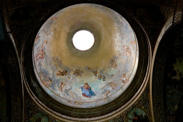 Cupola of Lady of Grace church, Havana