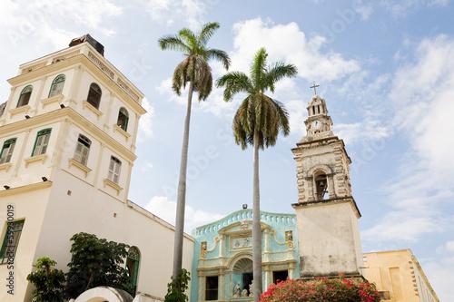 Foto op Aluminium Caraïben Belen Convent, Havana