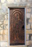 Old  metal  door. Jerusalem