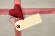 Herz mit Papier