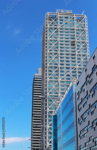 Hotel Arts and Torre Mapfre in Barcelona