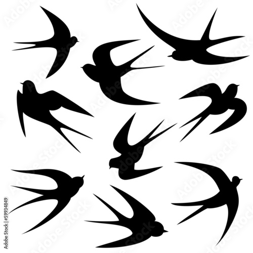 gamesageddon schwalben tattoo vorlage vektor silhouette lizenzfreie fotos vektoren und. Black Bedroom Furniture Sets. Home Design Ideas