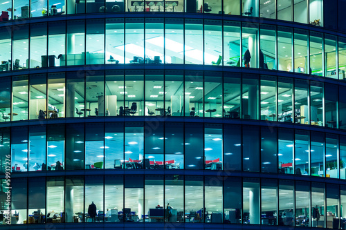Skyscraper Windows in London - 59937276